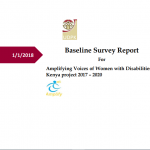 Amplifying women voices report cover
